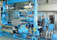 Установка для металлизации рулонных материалов