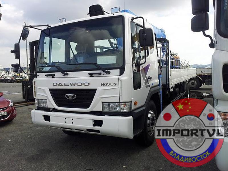 Шасси DAEWOO UltraNovus 4Х2 КМУ 7т DONG YANG SS1926