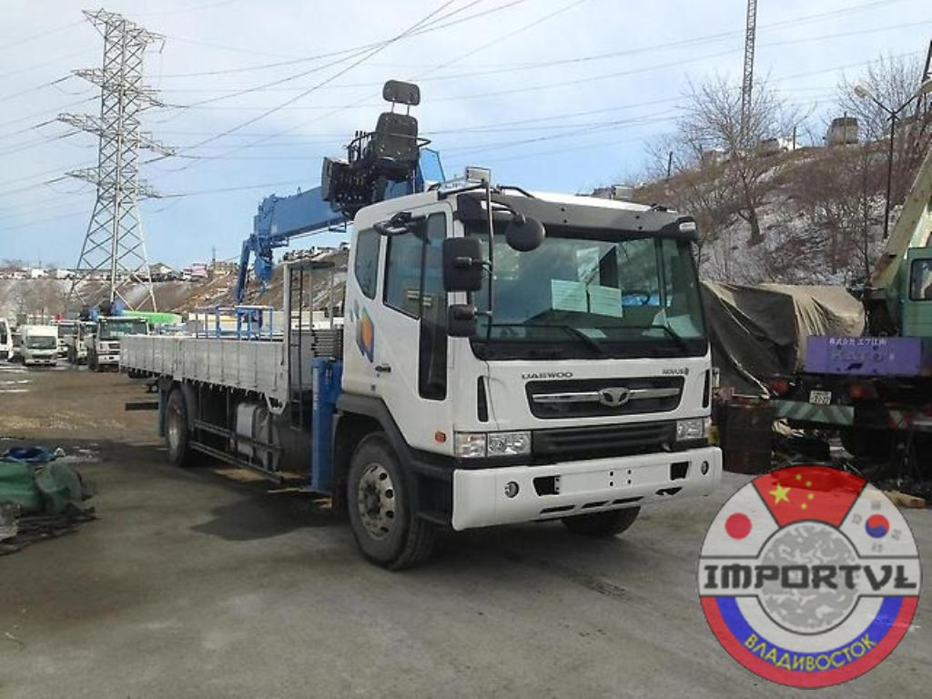 Манипулятор Daewoo UltraNovus КМУ Dong Yang 1506ACE