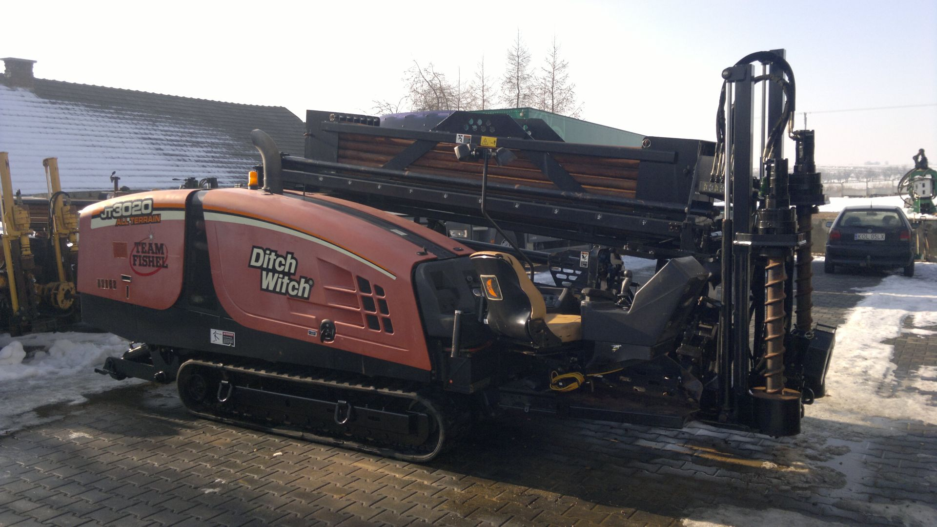 Буровая установка ГНБ Ditch Witch JT3020 All Terrain