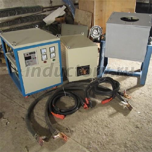 Фото печь конвекционная пароувлажнением - Индукционная плавильная печь ИПП-100 от ООО ТД-РИО.