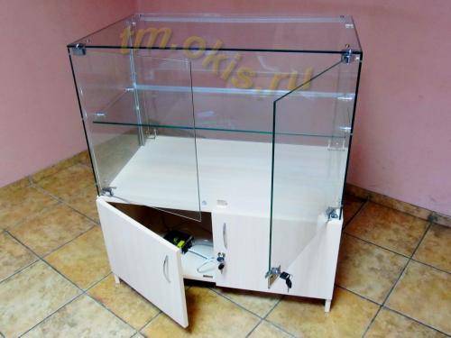 Как сделать стеклянные витрины своими руками
