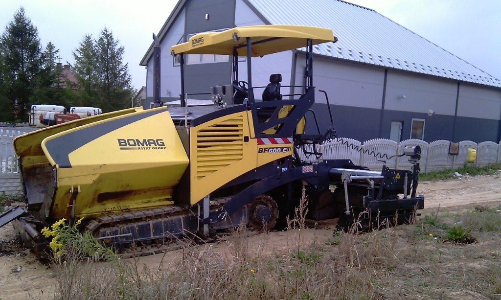 ������ ���������������� BOMAG BF600C