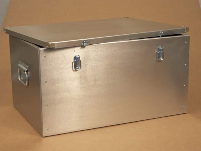 Ящик для инструментов из оцинковки