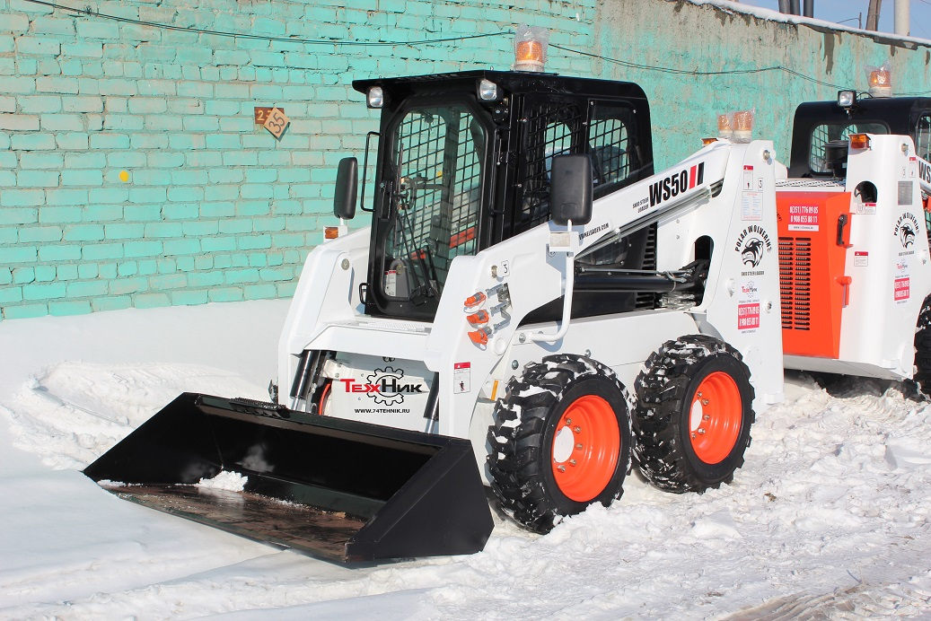 Мини-погрузчик FORWAY WS-50 (bobcat S175)