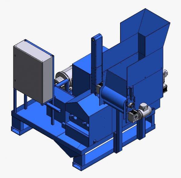 Пресс для стружки металлической