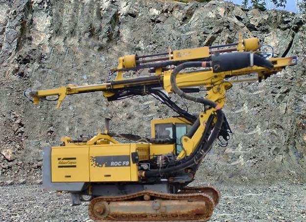 Буровая установка Atlas Copco Rock D7