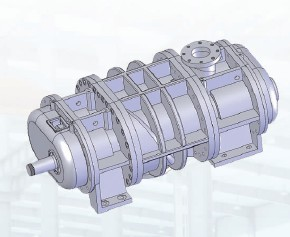 steam-water helical screw expander