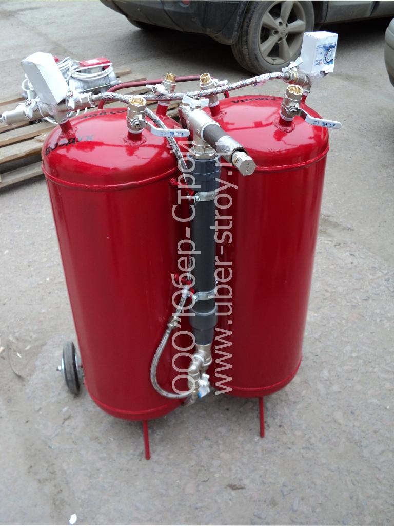 оборудование для жидкого пенопласта
