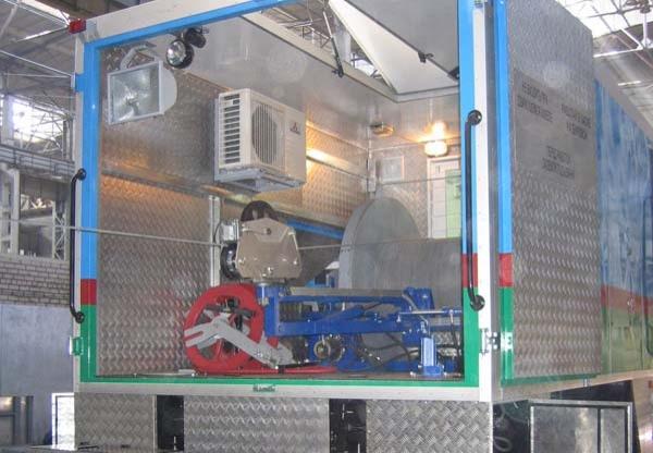 Геофизический подъёмник с гидроприводом, ПКС – 5Г цена ...  геофизический