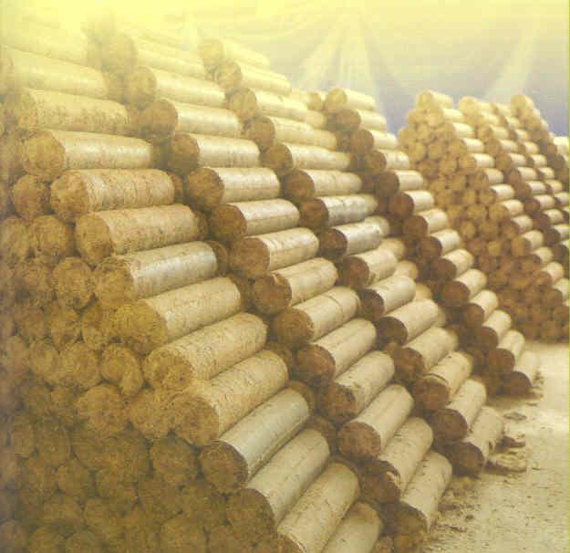Топливный брикет из соломы своими руками
