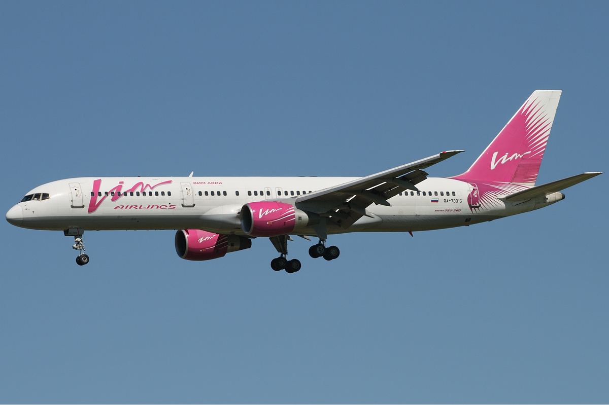 «ВИМ-Авиа» совершит 5 рейсов 3октября— Минтранс