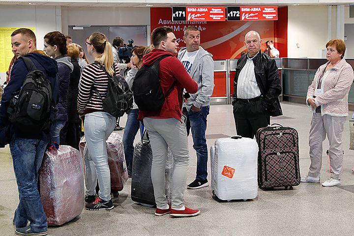 В РФ вернули всех пассажиров «ВИМ-Авиа» спросроченной датой вылета