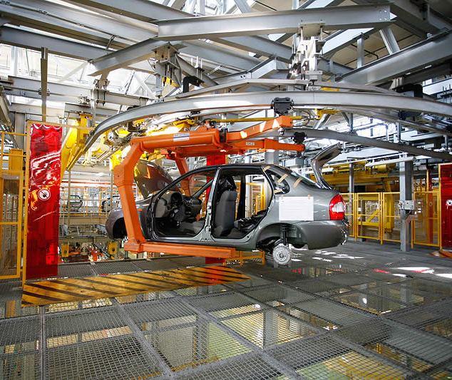 Волжский автомобильный завод перешел начетырехдневку— Падение авторынка