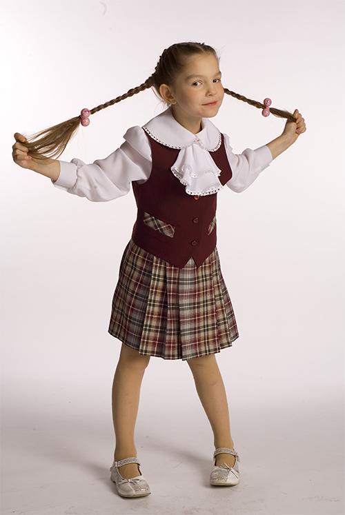 Школьная форма для девочек своими руками сшить