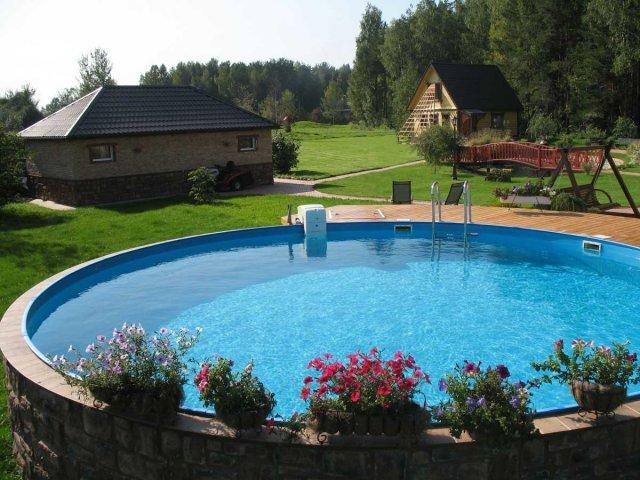 М2 - Каркасный бассейн своими руками