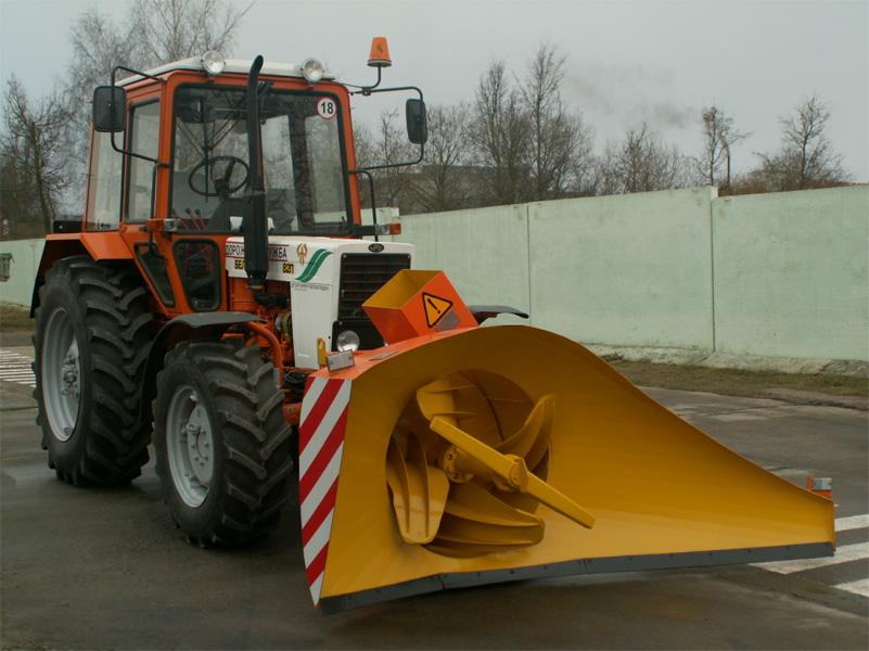 Роторный снегоуборщик своими руками для трактора