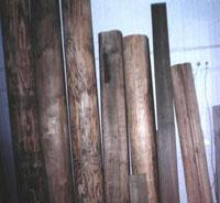 Механохимически модифицированная древесина
