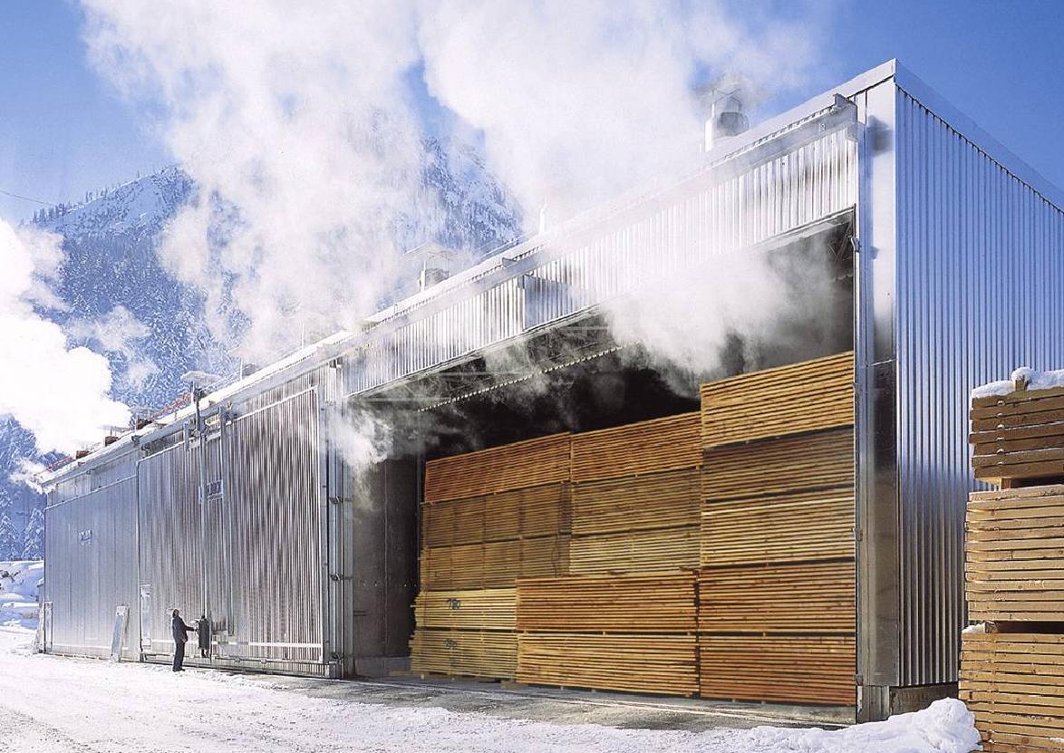 Камерная сушка.  Это основная промышленная технология сушки древесины, осуществляемая в лесосушильных камерах...