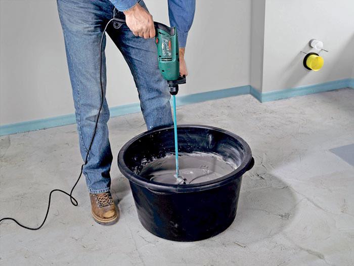 Как верно замешать бетон