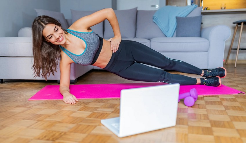 Онлайн фитнес тренировка