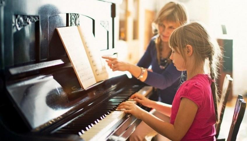 Обучение музыке на дому