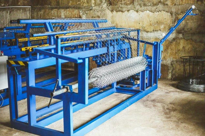 Производство сетки-рабицы