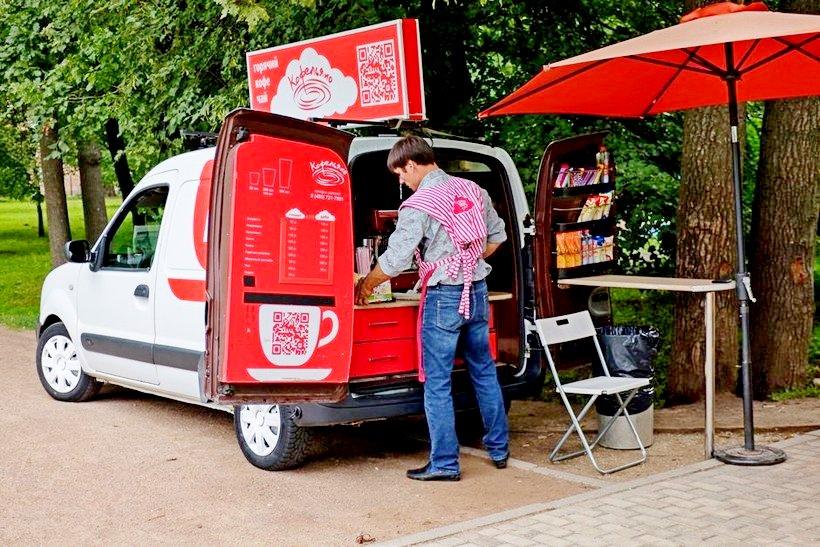 Бизнес идея: Как открыть кафе на колесах?