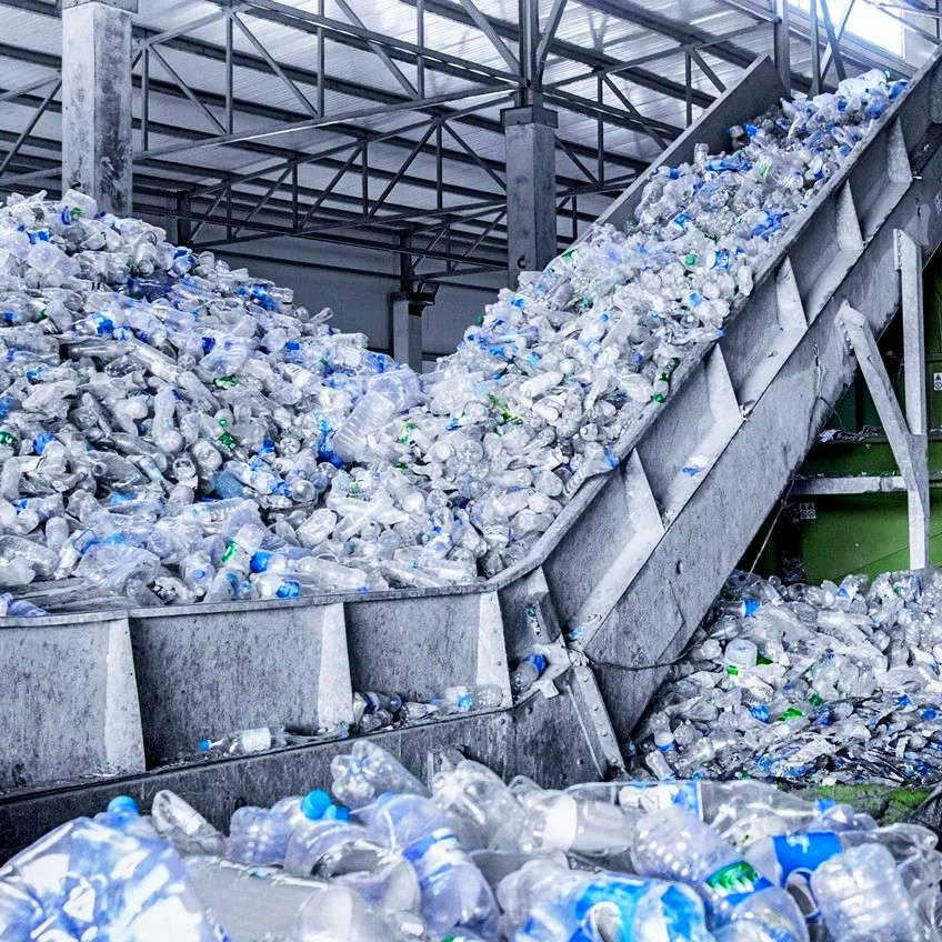 Завод по переработке пластиковых отходов