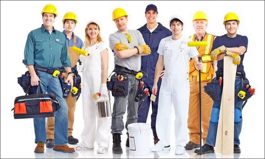 Персонал строительной компании